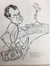 Jose Perez and Robert F. Patton, Nixon/Agnew Coloring Book, 1969, David S. Broder papers, Manuscript Division, Library of Congress