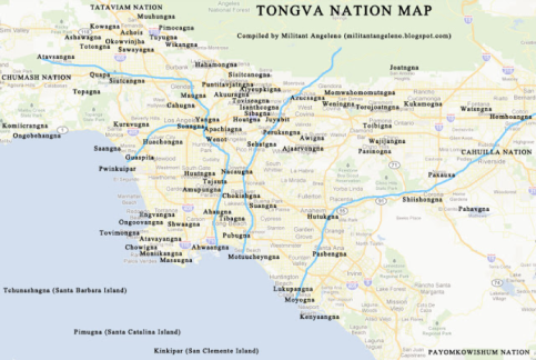 Ancient Tongva villages