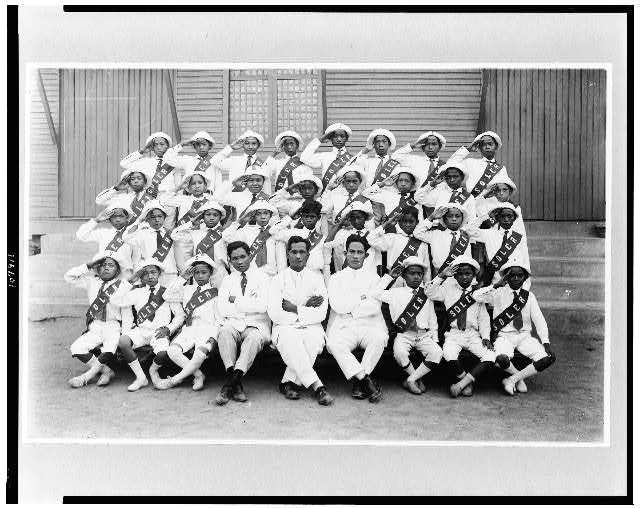 Filipino athletics under colonial rule; [Track team, Manila, Philippine Islands], circa 1900-1923, Frank and Frances Carpenter Collection, Prints and Photographs Division, Library of Congress