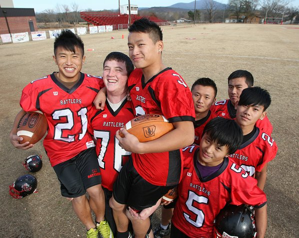 Hmong football players via 8Asians.com; http://www.8asians.com/2011/12/19/hmong-players-beating-expectations-in-small-town-football/