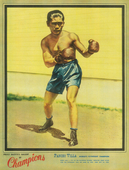 Francisco 'Pancho Villa' Guilledo, 'Police Gazette's Gallery of Champions'