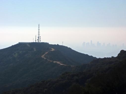Tongva peak