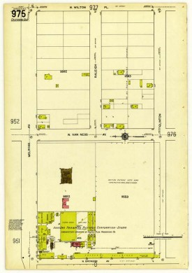 Insurance Map of Los Angeles, California New York: Sanborn Map Company, 1919, Geography and Maps Division, Library of Congress