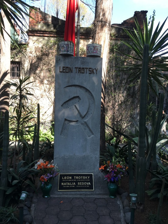 One thing you know about Trotsky's story: it has a sad ending
