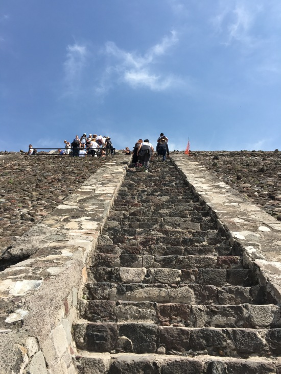 Ok outside the city proper, Teotihuacan has several temples, most able to be scaled but admittedly not for the weak of heart. Totally dug Teotihuacan despite the bat#$% crazy tour guide
