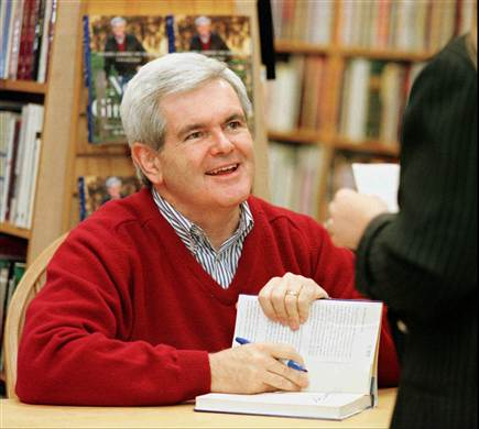 Newt Keeps Pitching the America of His Imagination