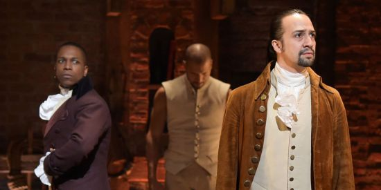 Hamilton Burr musical