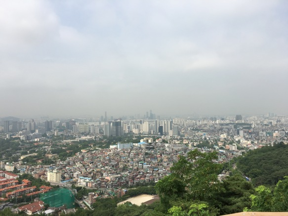 Prime hiking view of Seoul