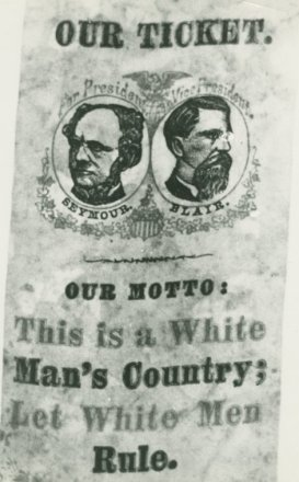 white man's country