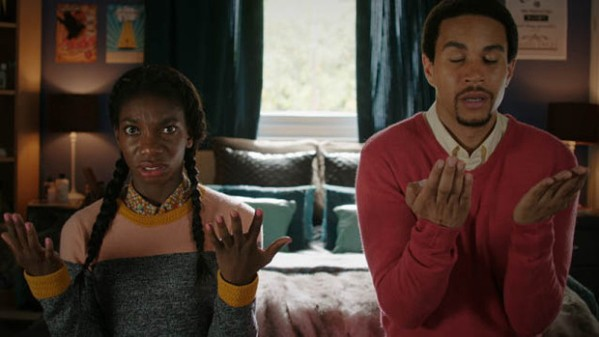 chewing-gum-ep1-tracey-michaela-coel-and-ronald-john-macmillan-praying_620x349