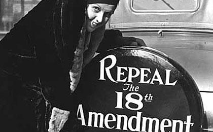 repeal the 18th amendment