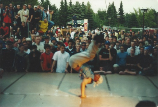 Climax crew battle late 1990s back handstand