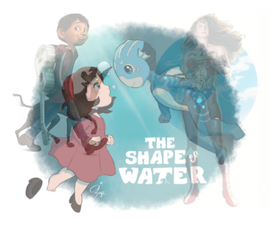 coco shape of water wonder woman