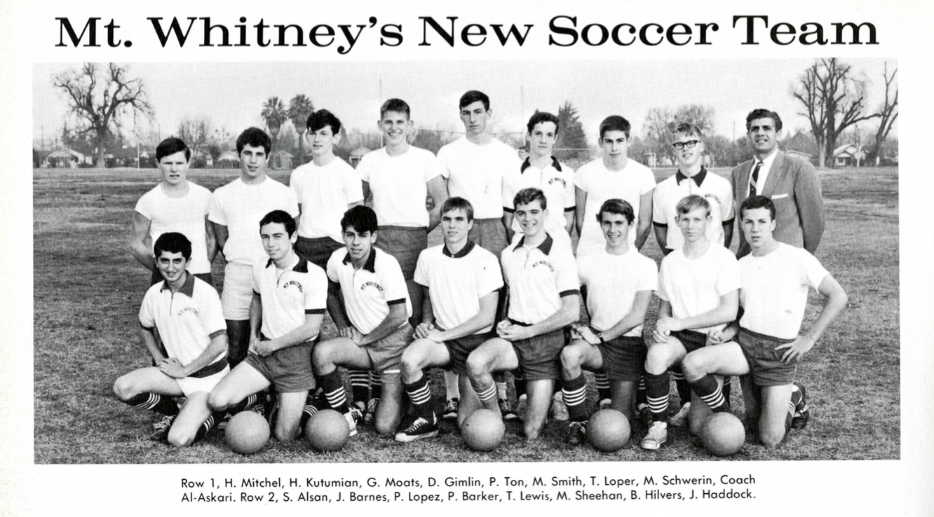 Mt Whitney's New Soccer Team