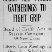 Dispatches from Fresno, 1918-19: Following the 'Spanish' Flu Pandemic in Real Time, Part III